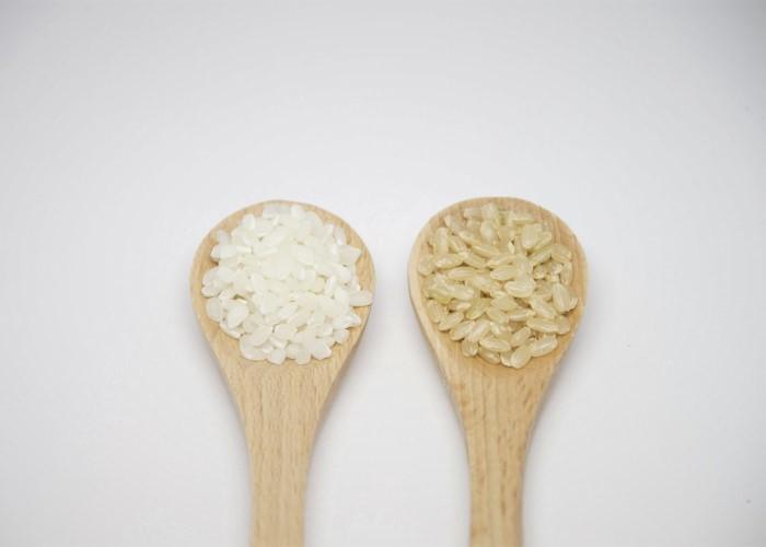 白米と発芽玄米