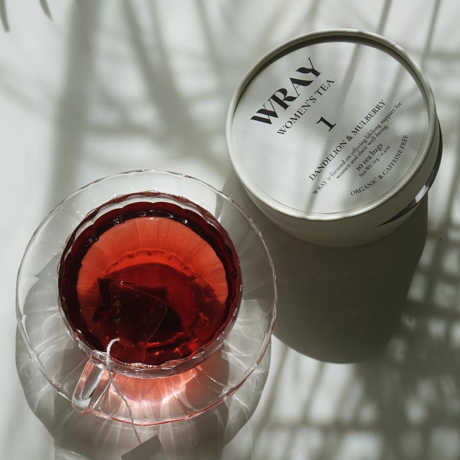 WRAY WOMEN'S TEA ダンデライオン&マルベリー お召し上がりイメージ